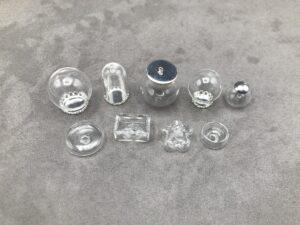 hohle Glaskugeln