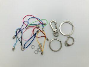 Schlüsselringe & Kordel für Anhänger